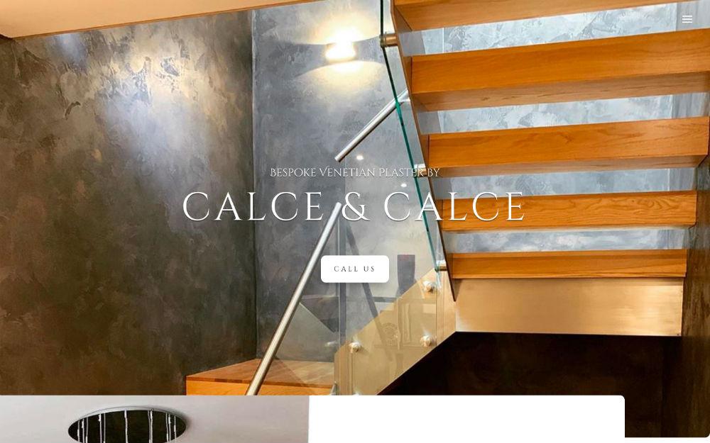 DLS Web Design - Calce & Calce Venetian Plastering Wakefield Leeds