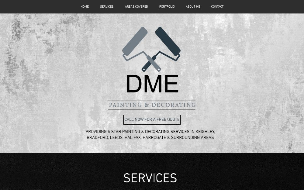 DME Painting and Decorating - DLS Web Design