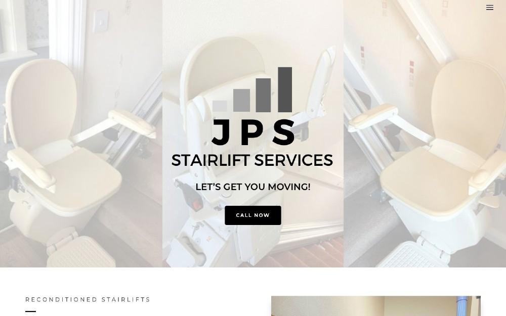 JPS Stairlifts - DLS Web Design