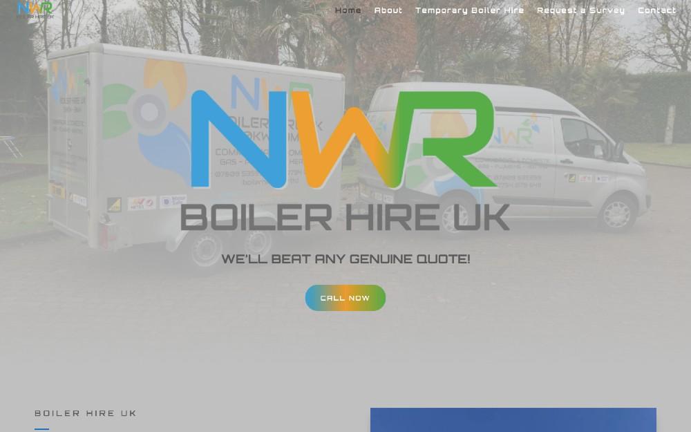NWR Boiler Hire UK - DLS Web Design